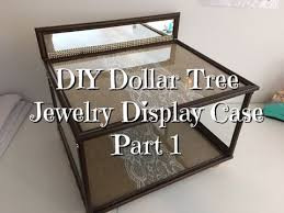 This Is Part 1 Of My DIY Dollar Store Jewelry Display Case 2 Will