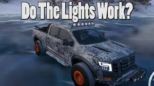 Forza Horizon 3 - Do The Off-Road Lights Work??? - YouTube Dragon Rc Light System For Short Course Trucks Pkg 2 Ford Raptor Svt Truck Offroad Smoke Lens Led Tail Head Off Road Lights Roof Bar 0412 12016 F250 F350 Super Duty Fusion Front Offroad Bumper Fb Led Lighting Femine Hella Offroad Dee Zee Bullbar And Kc Leds Pt Youtube Best Cree Reviews Truck 9inch Red 96w Round Work 12v Fog Driving 20 200w Osram Inch Curved 4d Spot Flood 18w 12v Parts Amazonca Accent Automotive Neon