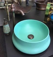 casa padrino jugendstil waschbecken türkis ø 40 x h 16 cm rundes keramik retro waschbecken rustikales badezimmer zubehör