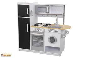 cuisine en jouet cuisine en bois pour enfants grise et blanche pepperpot 1 10 m
