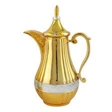 JGCS Small Arabic Pot Turkish Coffee Dallah
