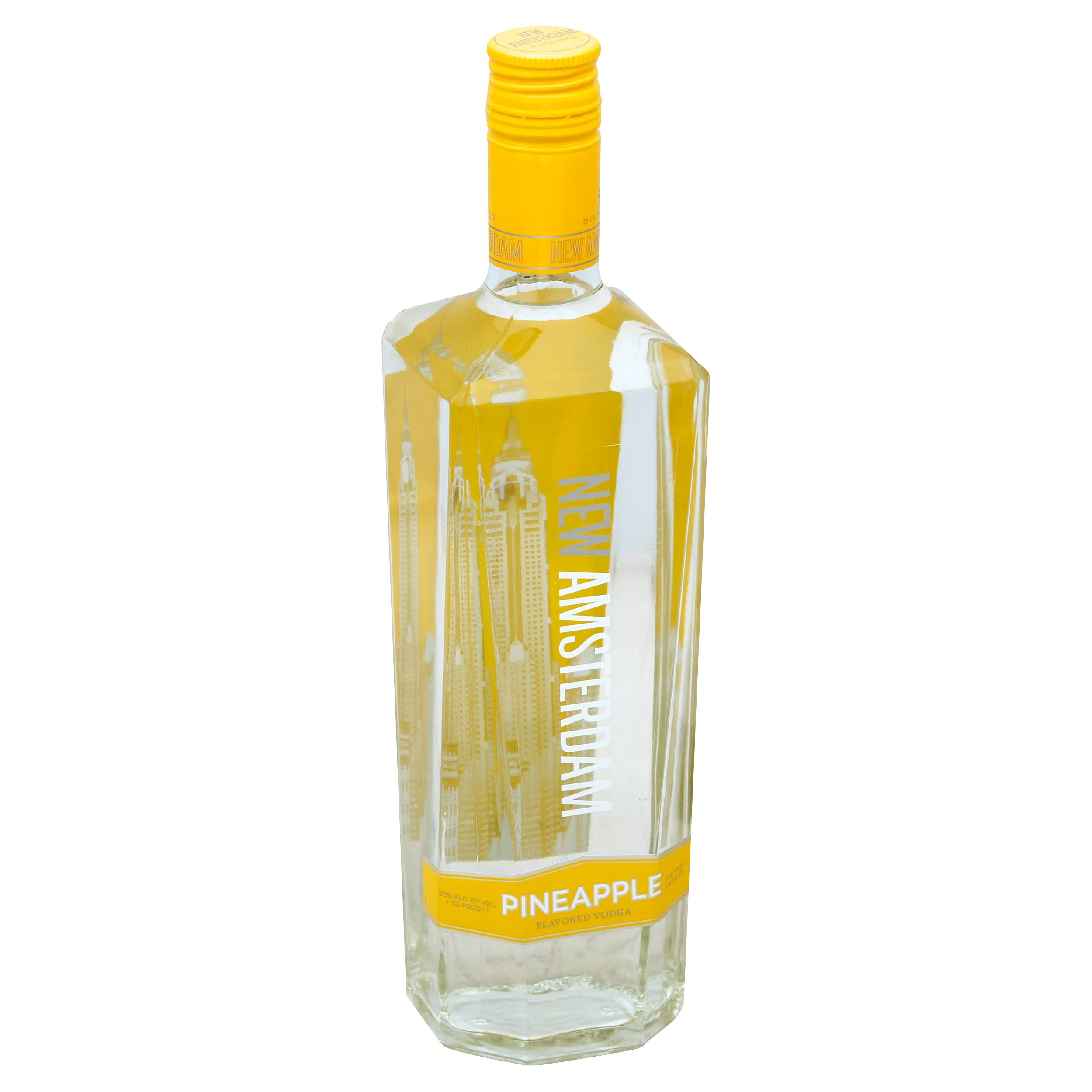 New Amsterdam Vodka, Pineapple Flavored - 750 ml