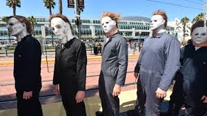 Who Played Michael Myers In Halloween by Darth Car Unveiled At Comic Con Cnn Com