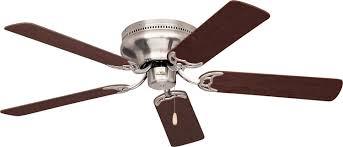 Low Profile Ceiling Fans Flush Mount by Emerson Ceiling Fans Cf805sbs Snugger 52 Inch Low Profile Ceiling