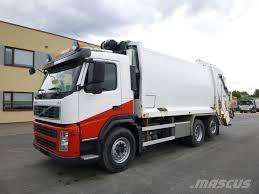 Used Volvo FM9 6x2+JOAB Press Garbage Trucks / Recycling Trucks Year ...