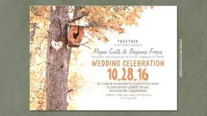 Rustic Tree Wedding Invitations And Design Create The Template 76