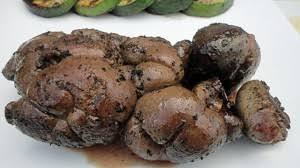cuisiner les rognons de veau rognon de veau au barbecue