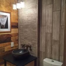 legno travertine bath not about the sink but the tile