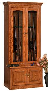 Wooden Gun Cabinet With Etched Glass by Wood Gun Cabinet With Deer Etched Glass 52 Images Wood Gun