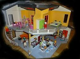 spielzeug playmobil teppich gross rund puppenhaus villa