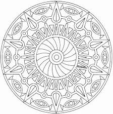 Amazing Free Mandala Coloring Pages 21 For Picture Page With