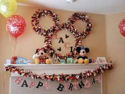 Innovative Diy Mickey Mouse Party Decoration Ideas Around Awesome