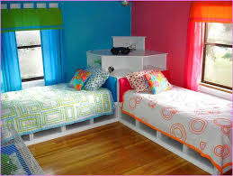Twin Beds with Corner Unit kids — Modern Storage Twin Bed Design
