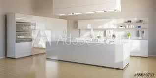 Moderne Weisse Küchen Bilder Große Moderne Weiße Küche Stock Illustration Adobe Stock