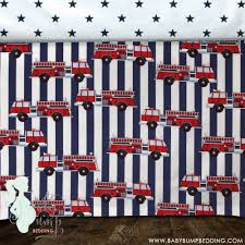 Navy And Coral Crib Bedding by Navy Red Firefighter Dalmatian Baby Boy Crib Bedding