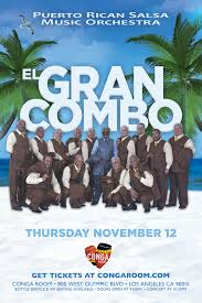 Conga Room La Live Concerts by El Gran Combo Live In Concert Tickets Conga Room Los Angeles