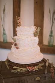 Bite Me Bakery Wedding Cake For DIY Barn In Denham Buckinghamshire