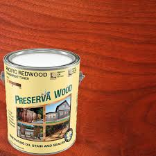 Thompsons Waterseal Deck Wash Msds by Preserva Wood 1 Gal Oil Based Pacific Redwood Penetrating