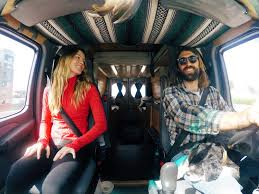 About Three Months Ago My Boyfriend Richie Our Dog Roscoe And I Moved Into 50 Square Feet Of Living Space That We Crafted Out Sprinter Van