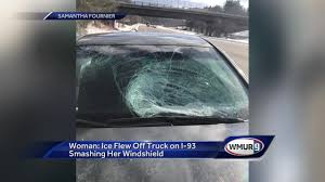 Woman Says Ice Flew Off Truck On I-93, Smashed Her Windshield Dorman Windshield Washer Fluid Hose Line For Chevy Gmc Cadillac Tz 1012 Universal Car Cover Auto Front Windscreen Rain How To Find A Local Repair Houston Tx Shop Clints Glass 1939 1947 Dodge Fargo Pickup Truck 2pc Seal Filehino View 2jpg Wikimedia Commons Photos Deer Into Truck Windshield Warning Graphic Images Kirotv Very Old Wrecked Red Tank With Broken Stock Photo Turkey Flies On I85 News Amazoncom Best Quality Sun Shade For Any Vehicle Mounted Rack Groves And Stone