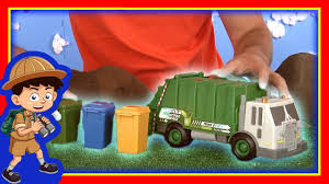 Garbage Truck Videos For Children - George The Toy Tonka Street ...