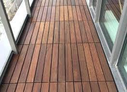 Balcony Flooring Ideas Outdoor Small Updates