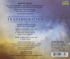 The Wound Dresser John Adams by Robert Spano Transmigration Amazon Com Music