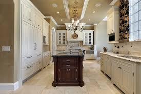 white kitchen cabinets tile floor quicua