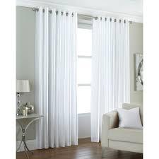 vorhang set mit ãsen wayfair basics größe 168 b x 229 h cm farbe weiß