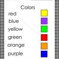 Match The Color And Word Check Out Freeprintable For Content To Print