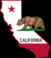 California Outline And Flag Wallpaper Computer Of Clipart