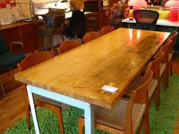 Image Of Ikea Butcher Block Dining Table