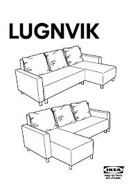 canapé avec meridienne ikea lugnvik canapé lit avec méridienne granån noir ikea canada