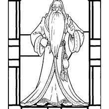 Hagrid Albus Dumbledore To Print Out