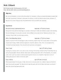 Resume In Spanish Example Bartenr Sample
