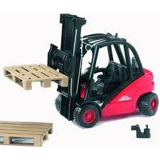 100 Toy Forklift Truck Linde H30D By Bruder S FUNdamentally S