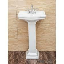 Aquasource Pedestal Sink Manual by Pedestal Sinks You U0027ll Love