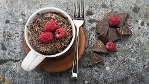 tassenkuchen schneller cupcake aus der mikrowelle mit kakao