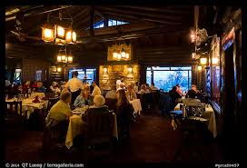 picture photo dining room in evening el tovar grand canyon
