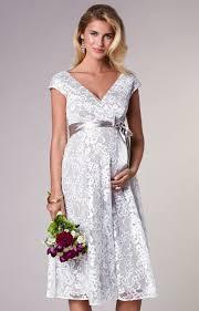 orla maternity wedding lace dress oyster cream maternity wedding