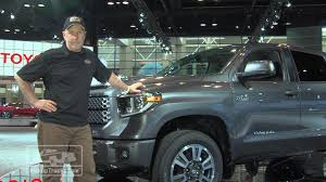 100 Toyota Truck Reviews 2018 Tundra TRD Sport Review First Impressions Video