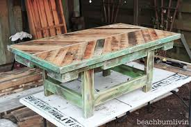 Pallet Wood Coffee Table Check Out Beachbumlivin Facebook To Win Chalk Paint Diy