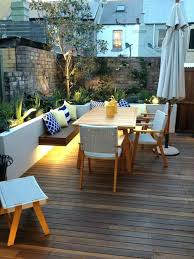 patio find this pin and more on pool patio by xeek wooden bench