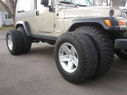 100 33 Inch Truck Tires Wrangler With Inch Tires W No Lift Page 3 JeepForumcom