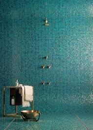 mixed pacific blue glimmer glass tile pacific blue glass mosaic