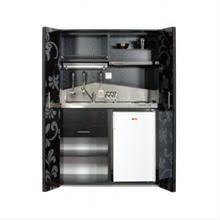 cuisine tout en un kitchenette équipée meuble tout en un une vraie cuisine design