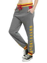 harry potter gryffindor girls jogger pants topic