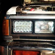 100 Led Lights For Trucks Headlights 4x6 Sealed Beam To LED Headlight Conversion HID Kit Pros