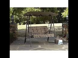 Kmart Porch Swing Cushions by Kmart Patio Swing Cushions Seat Support And Canopy Fabric