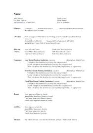 Ms Word Resume Templates Luxury Template Free Of Cv Microsoft 2007 Format